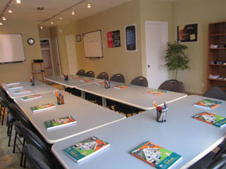 waterloo, ontario driving school classroom